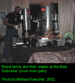 Robots at the Mad Scientists' Union