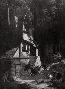 How Nuth would have Practised his Art upon the Gnoles, Sidney Sime